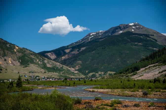 Approaching Durango